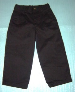 BOYS PANTS KIDS GEORGE 10 BLACK DRESS  YOUTH