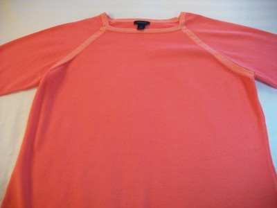 WOMEN WESTBOUND CORAL SHIRT TOP XL EXTRA LARGE