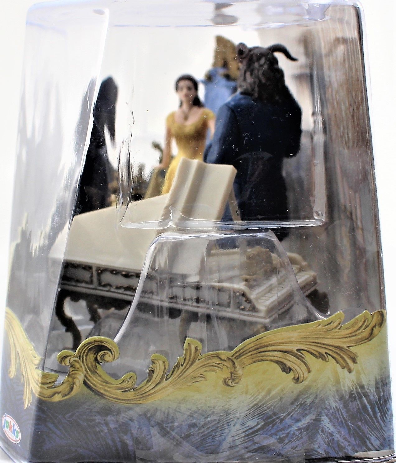 Beauty And The Beast Live Action Enchanted Figurine Set - READ DESCRIPTION