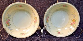 "12 Homer Laughlin Eggshell Nautilus Ferndale Berry Bowls 5 1/4"" Set of 12 NICE - $28.66"