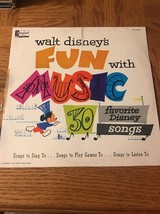 Walt Disneys Fun With Music Album - $165.29