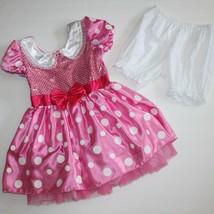 Disney Minnie Mouse Costume Pink Polka Dot Dress 5T - $39.99