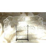 """Indiana Glass Tiara Last Supper Tray 11"""" - $4.40"""