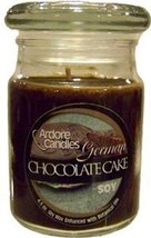 Ardore Candles 7670700234 GREMAN CHOCOLATE CAKE 26 OZ