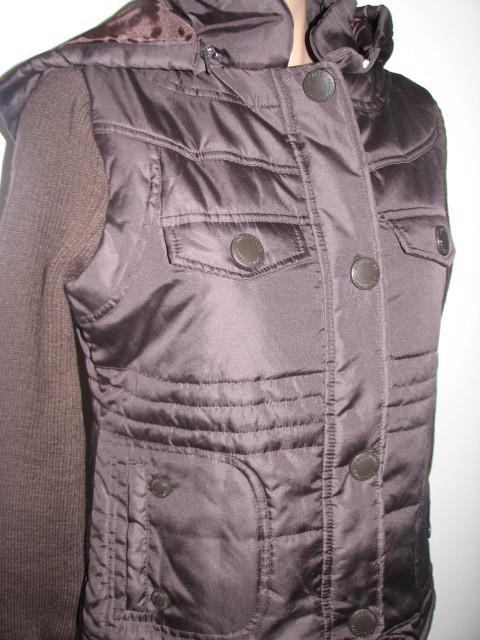 dollhouse:Women's Zip-Front With/Snap Placket & zip Off Hood Jacket,