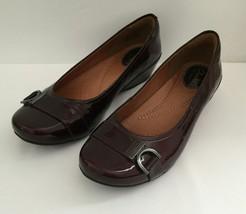 Clarks Artisan sz 7M Leather Upper Slip On Comfort Dress Shoes - $29.69