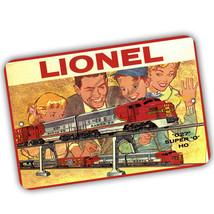 Lionel Train Box Top 027 Super O HO Reproduction 8x12 Aluminum Sign - $15.79