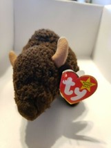 TY Beanie Babies  Roam Buffalo  1998 - $10.88