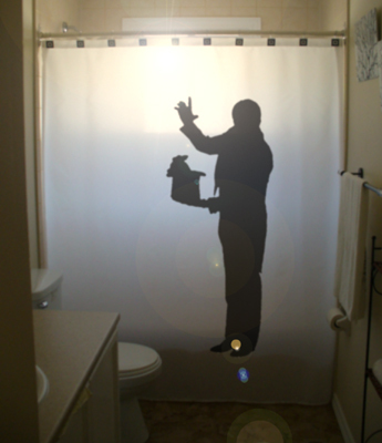 Magician shower curtain 3  75