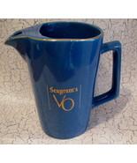 Seagrams VO Whisky Whiskey Pitcher Canada Souvenir - $14.99