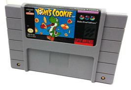 SNES YOSHIS COOKIE - Tested - CIean - 100% Working - Game ONLY authentic... - $6.99