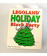 LEGO brick White Holiday Block party Christmas tree Legoland California ... - $18.51