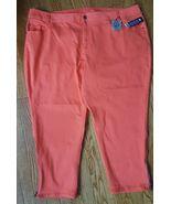 LANE BRYANT Women's Size 28 Plus Genius fit Skinny stretch ankle zip Pan... - $14.36