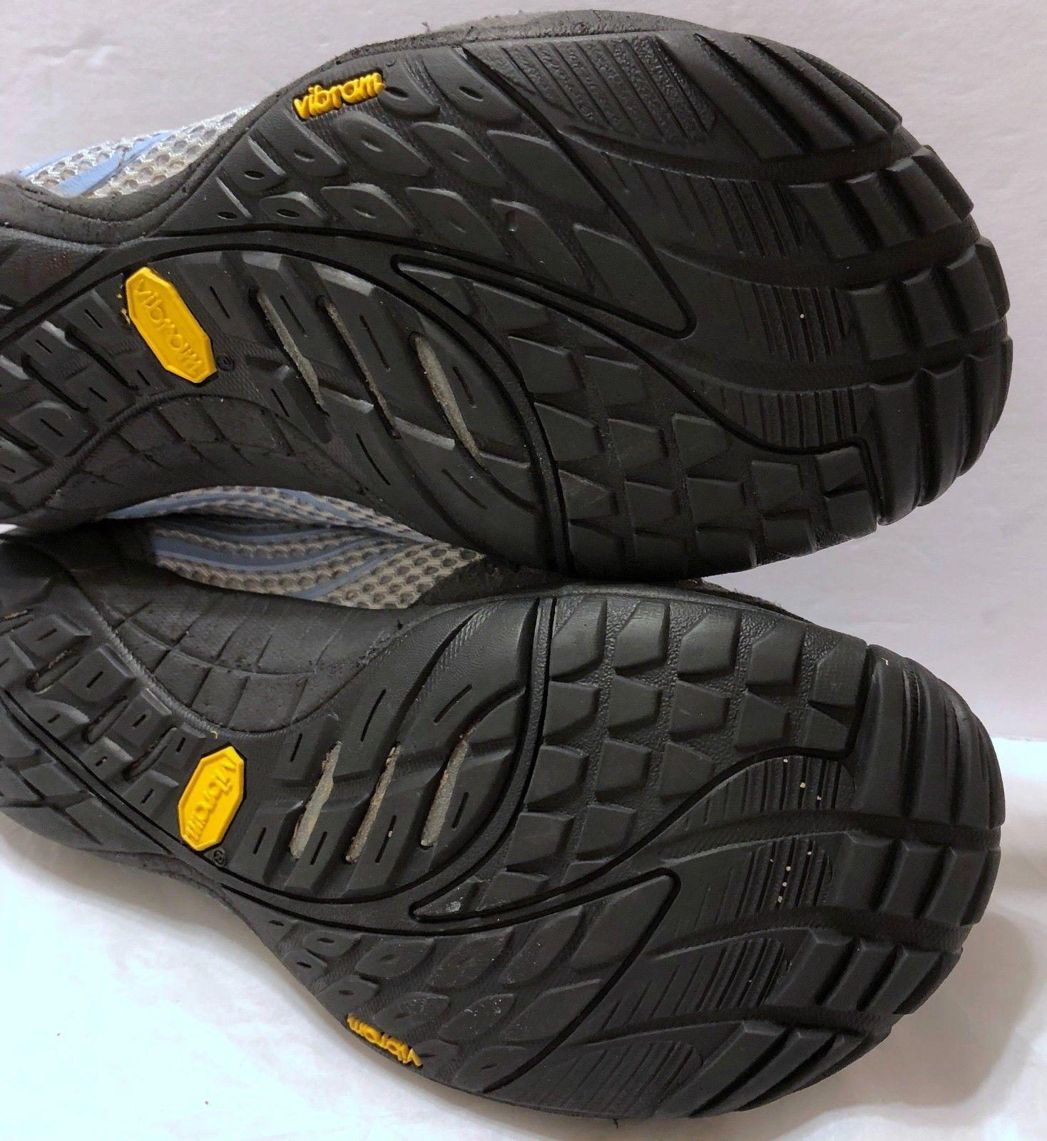 Merrell Pace Glove Lavender Lustre Shoes Sz 6.5 Durable Water Resistance Blue