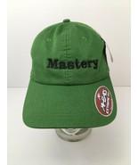 Mastery Green Hat Claiborne Farms Horse Racing Jockey Silks Logo Embroid... - $22.23