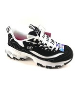 Skechers 11930 Black/White D'Lites Air Cooled Memory Foam Lace Up Sneakers - $69.00