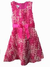 Bonnie Jean sleeveless floral embellished dress SIZE 6X - $19.75