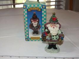 Magia Creations Esculpido Piedra Arenisca Santa 1995 Decoración de Navidad - $16.00