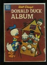 Four Color #1099 P 1960 Dell Walt Disney's Donald Duck Album Comic Book - $1.09