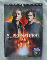 Supernatural The Complete Fifth Season DVD Set - $15.00