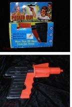 Potato Orange & Black Plastic Toy Gun Vintage - $16.99