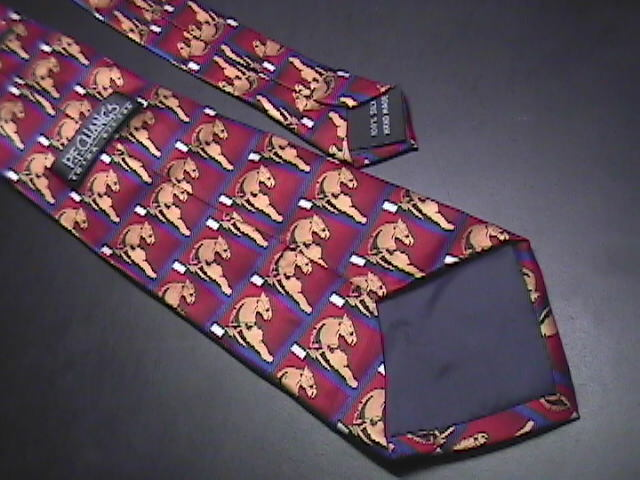 PF Chang's Chinese Bistro Neck Tie Silk Reds and Golds