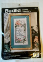 Linda Gillum Little Deeds of Kindness Counted Cross Stitch KIT Bucilla New 1991 - $14.84