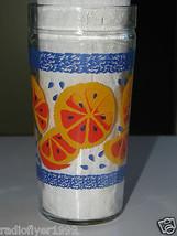 Anchor Hocking Glass Orange Slices Design 16oz  lot of 2 - $8.99