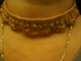 Beaded Choker Necklace - $13.00