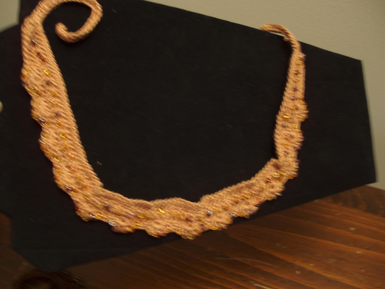Beaded Choker Necklace