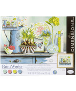 """Paint Works Paint By Number Kit 14""""X11""""-Vintage Collectibles - $29.90"""