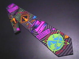 Ralph Marlin RM Style Neck Tie Internet 1996 - $9.99