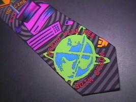 Ralph Marlin RM Style Neck Tie Internet 1996 image 4