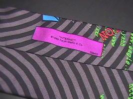 Ralph Marlin RM Style Neck Tie Internet 1996 image 3