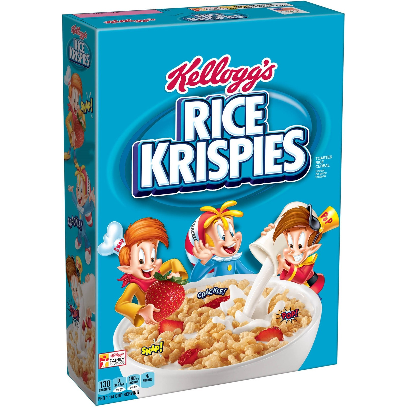 Primary image for Kellogg's Rice Krispies, Breakfast Cereal, Original, 12 Oz