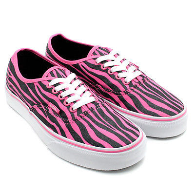 02339928e4 Vans Authentic Zebra Glitter Hot Pink Black and 30 similar items