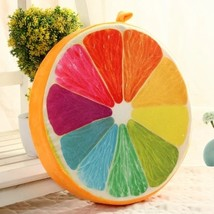 39*7cm Memory Foam Pouf for Baby Adults 3D Fruit Printed Bean Bag Chair ... - $27.22