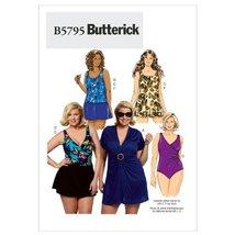 Butterick Patterns B5795KK0 Women's Cover-Up Top Sewing Pattern, Swimdress, Swim - $14.70