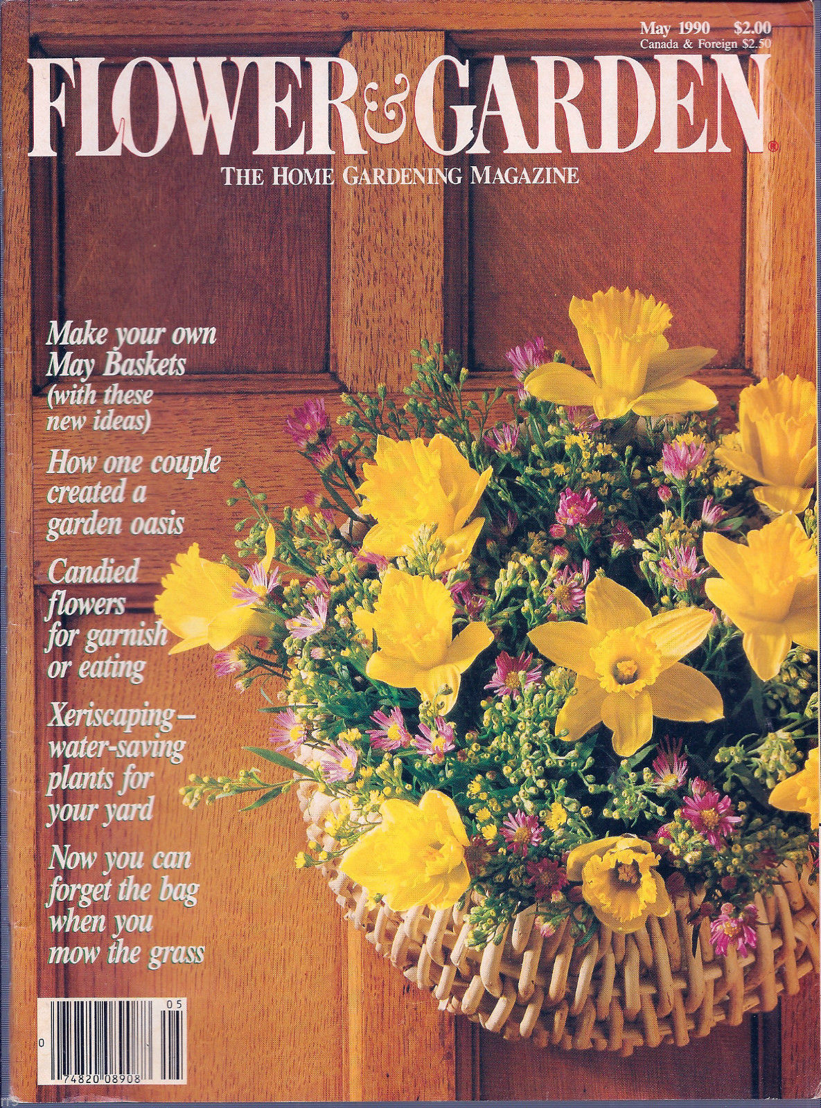 Primary image for Flower & Garden - The Home Gardening Magazine - May 1990