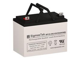 Sunnyway SWE12330 AGM / GEL U1 Battery Replacement by SigmasTek - $79.99