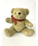 RALPH LAUREN Teddy Bear Vintage 1996 Tan Jointed Legs No Sweater - $14.01