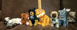 Set of 7 TY Beanie Babies, GARFIELD & Friends (lot) - $39.99