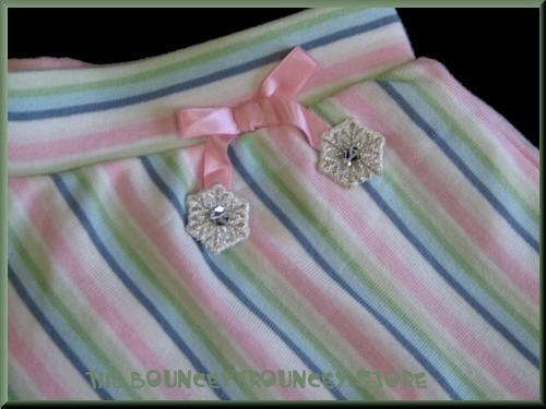 NWT Gymboree Snow Princess Stripe Snowflake Skirt Sz 5