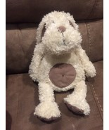 "JELLYCAT 16"" ""Pootie Bunny"" RABBIT Beige Beanbag Plush Stuffed Animal HTF - $37.36"