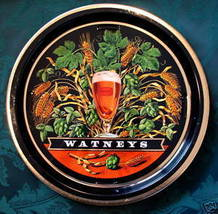 Vintage WATNEYS RED BARREL BEER Tray British Souvenir Collector Collectible - $49.95