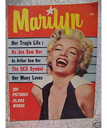 Vintage MARILYN MONROE Souvenir Collector Magazine Pictures NUDE Photo etc. - $24.95
