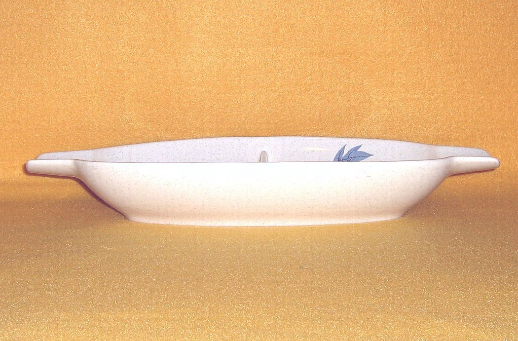 Franciscan China Autumn Oval Divided Vegetable Serving Bowl