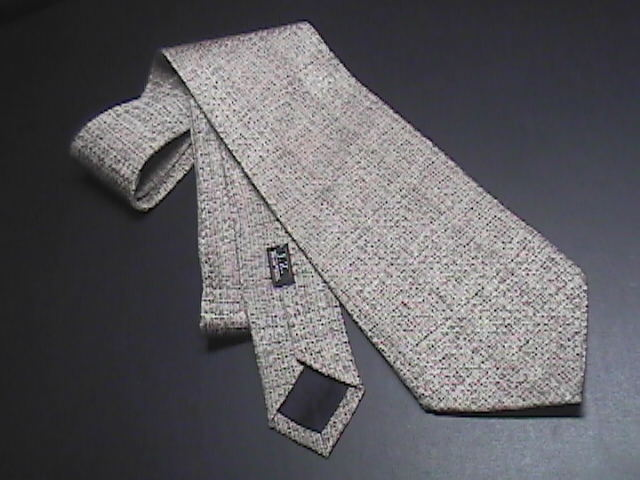 JZ Richards Nordstroms Dress Neck Tie Silk Design No 8245 2000 Greyish Browns