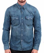 Levi's Men's Classic Long Sleeve Denim Button Up Casual Dress Shirt 81005 image 1