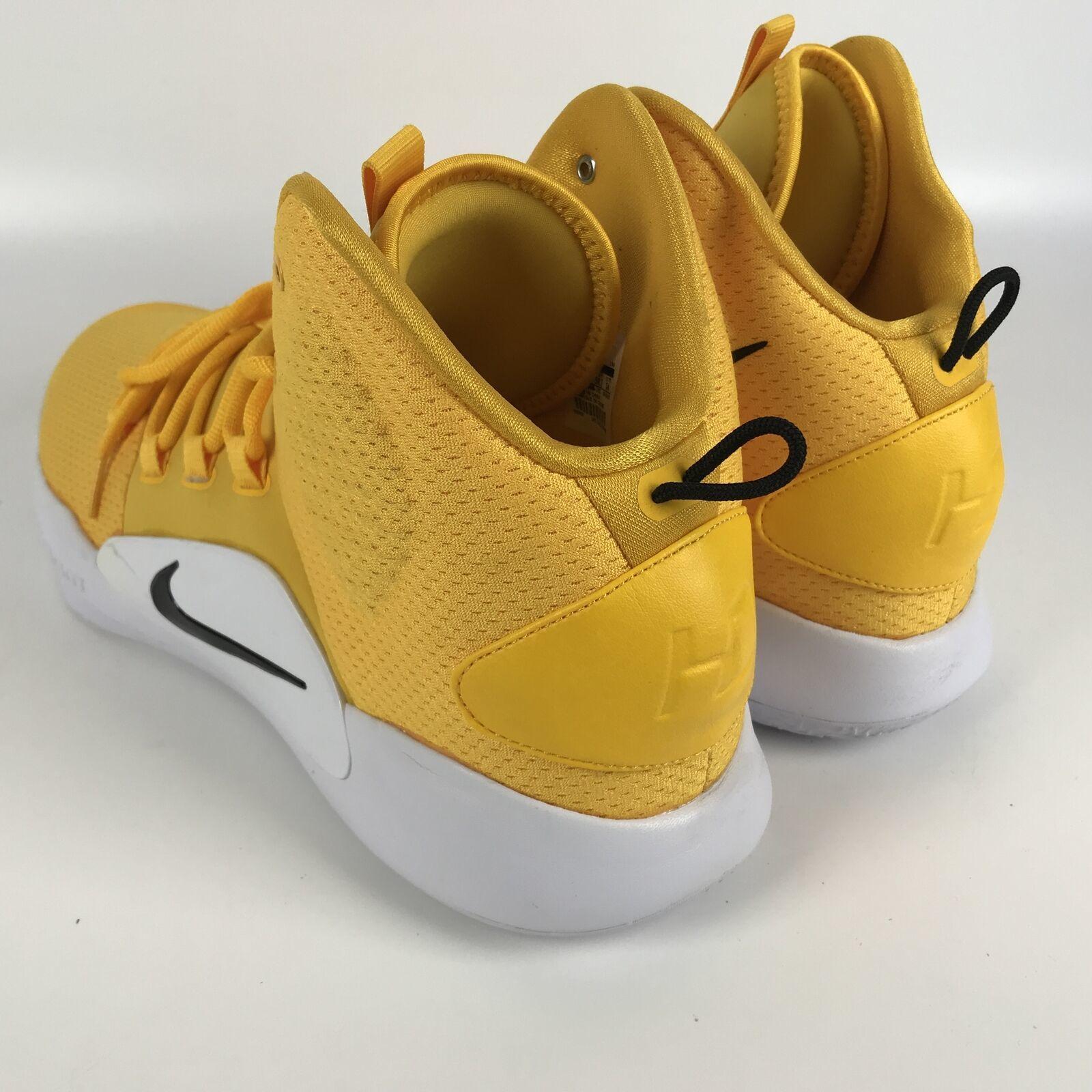 Nike Hyperdunk X TB yellow Men's size 16 Basketball Shoes AT3866 701 image 4